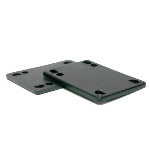 ATM 1/8 Inch risers (set of 2) Black hard plastic