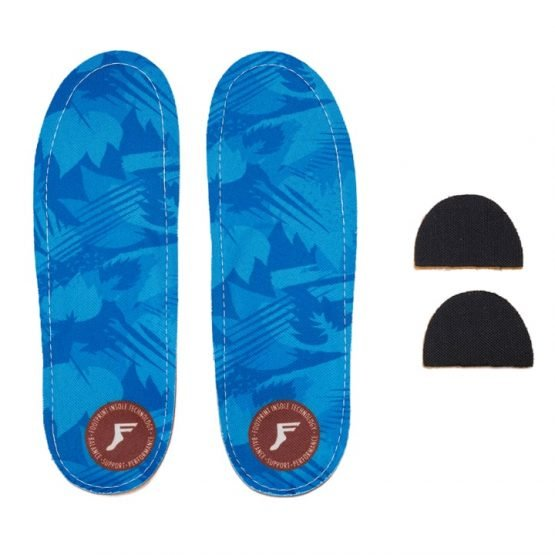 Footprint King Foam Orthotics Lo Profile Blue Camo