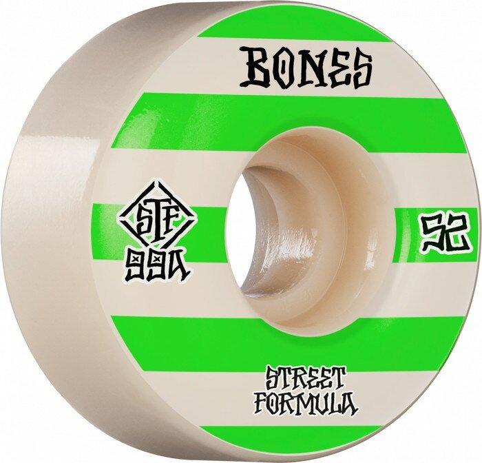 BONES WHEELS STF Skateboard Wheels Patterns 52 V4 Wide 99A
