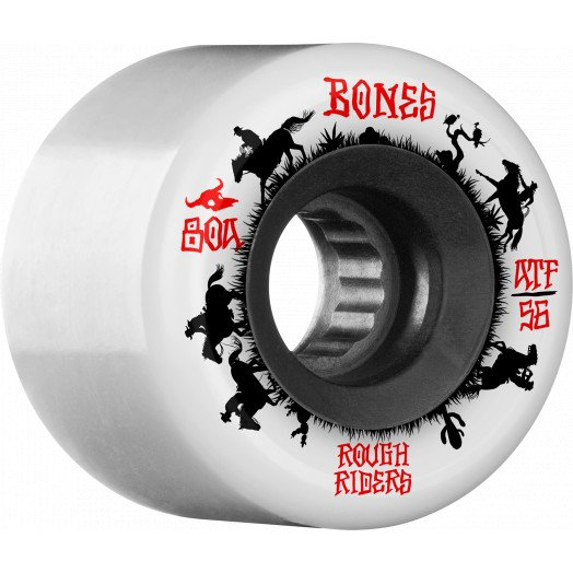 BONES WHEELS ATF Rough Filmers Wranglers Wheels 56mm 80a