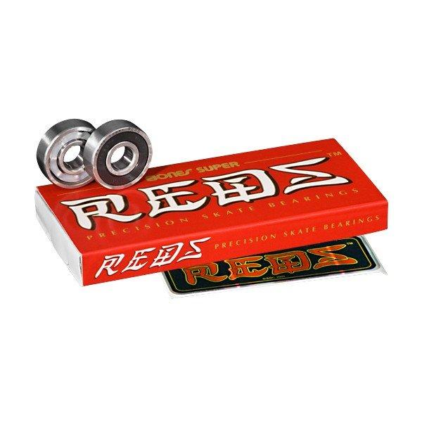 Bones Super REDS Bearings (set of 8)