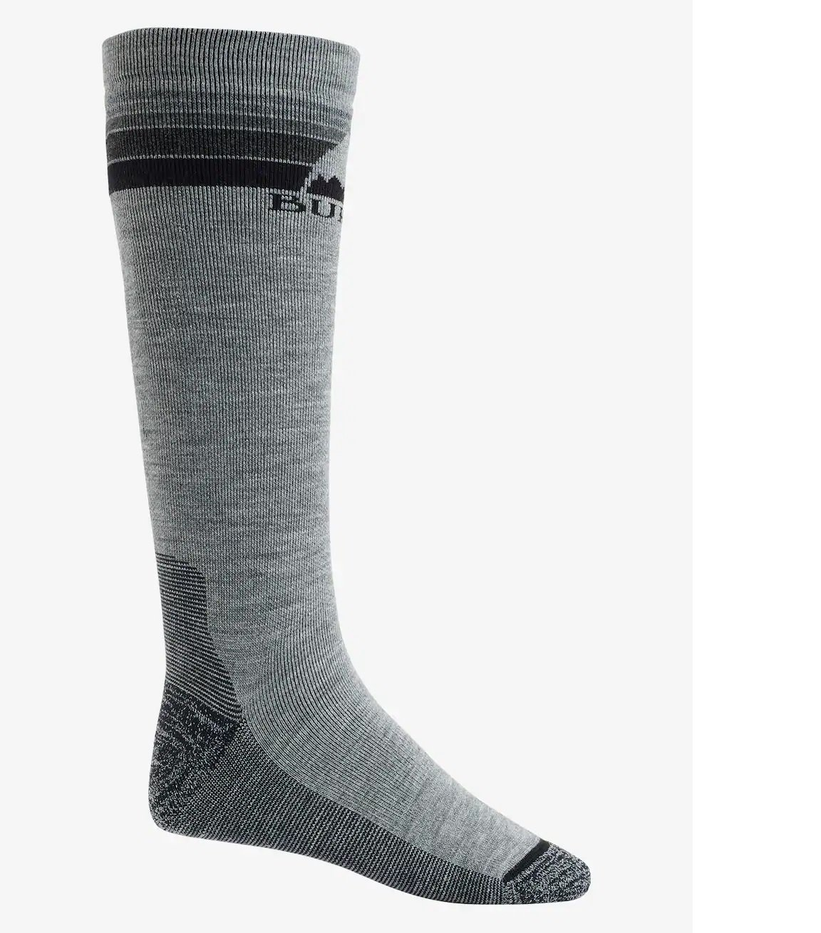 Burton Emblem Sock Grey Heather