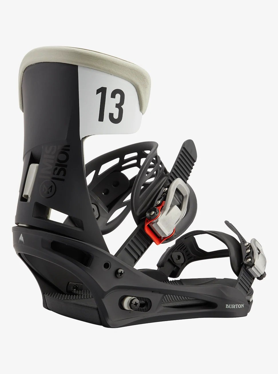 Burton Mission Bindings Black Gray Wing 2021