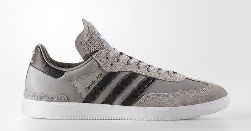 8434cfc6d Adidas Samba ADV Ch Solid Grey/Core Black