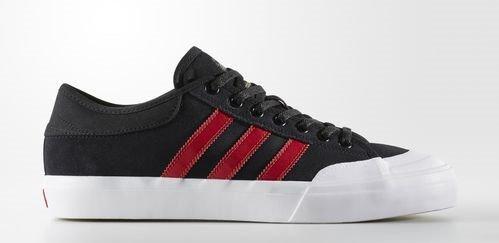 Adidas Matchcourt Core Black / Scarlet / Running White