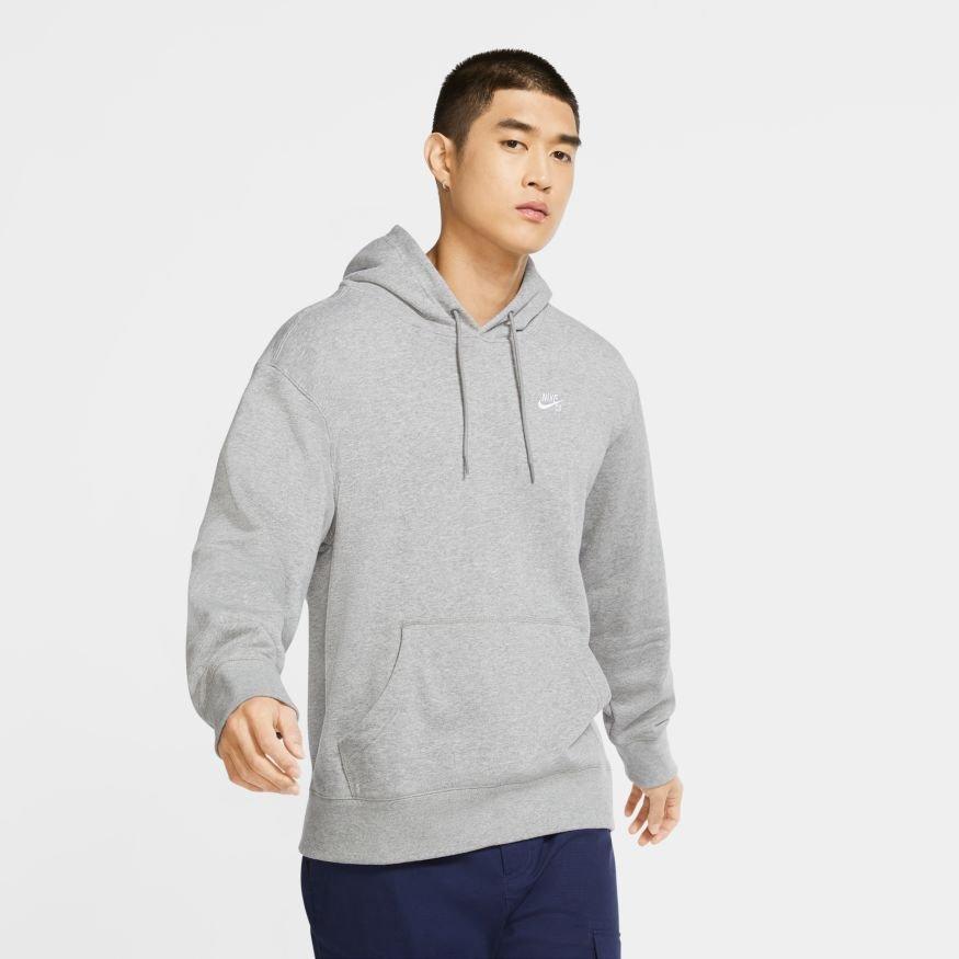 Nike SB RECYCLED Hoodie HEATHER GREY