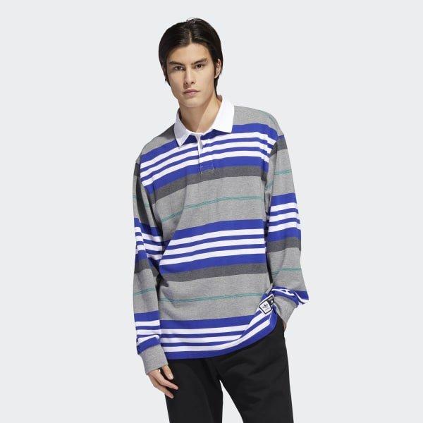 Adidas Cleland Polo Grey/Blue