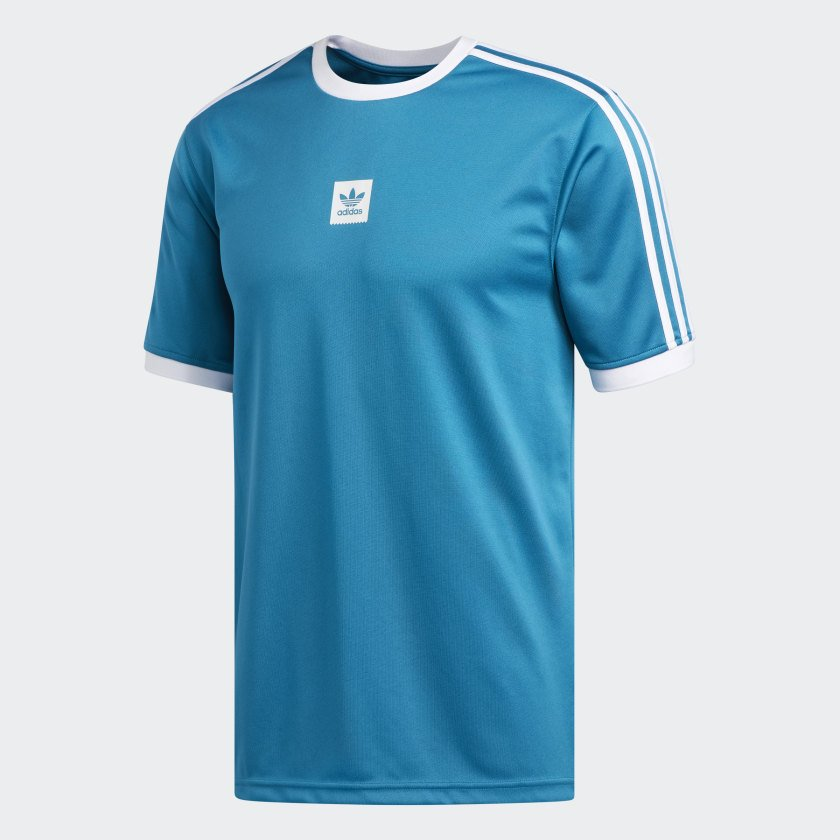 Adidas Club Jersey   Active Teal/White