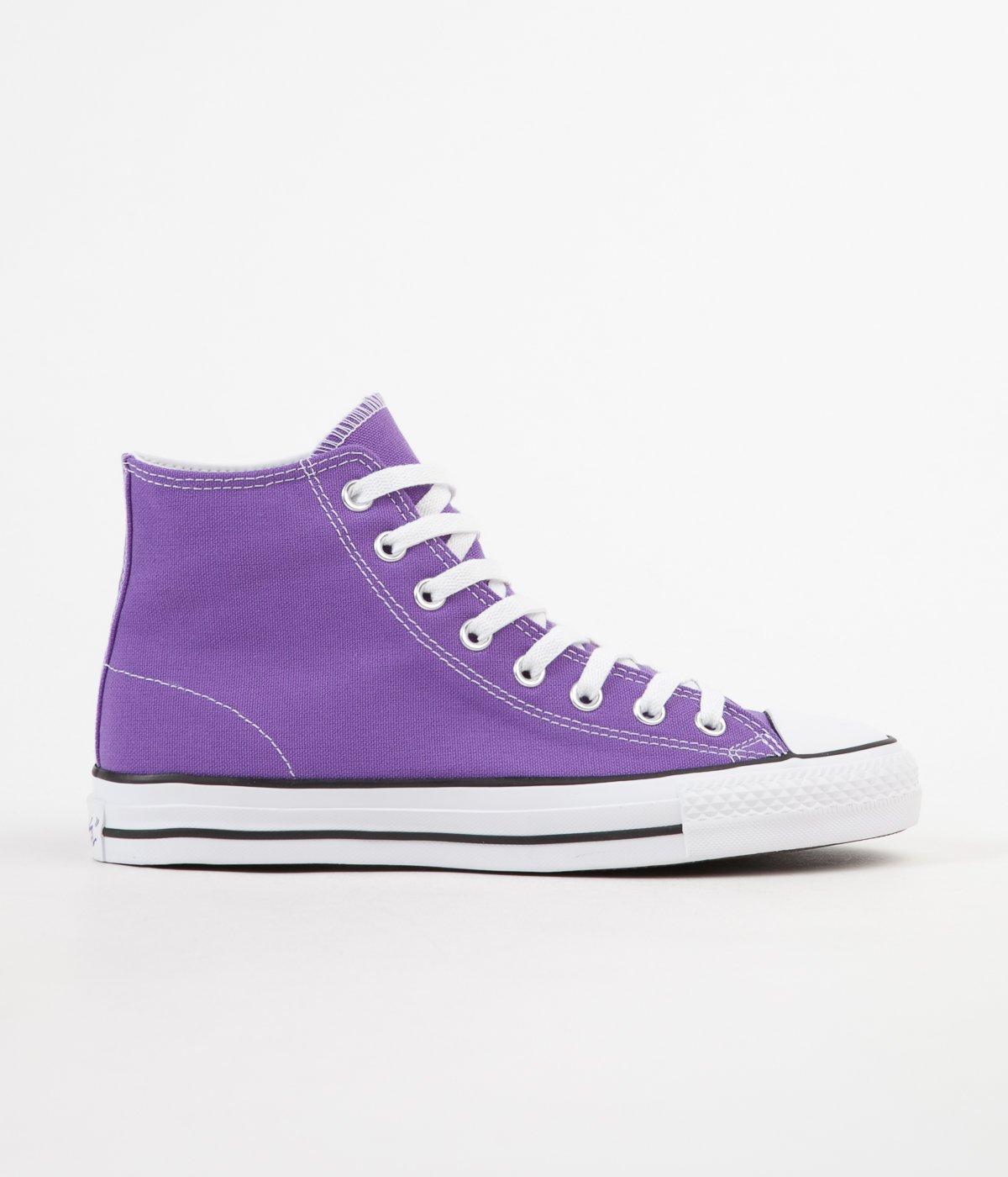 384c39e45a9e Cons CTAS Pro Hi PURPLE electric purple black white