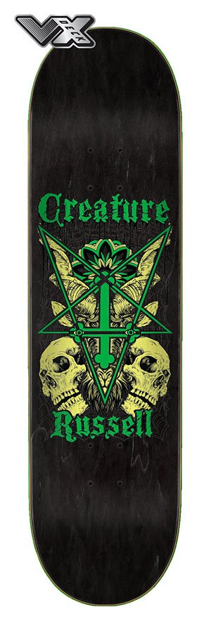 Creature 8.6in x 32.11in Russell Coat of Arms VX