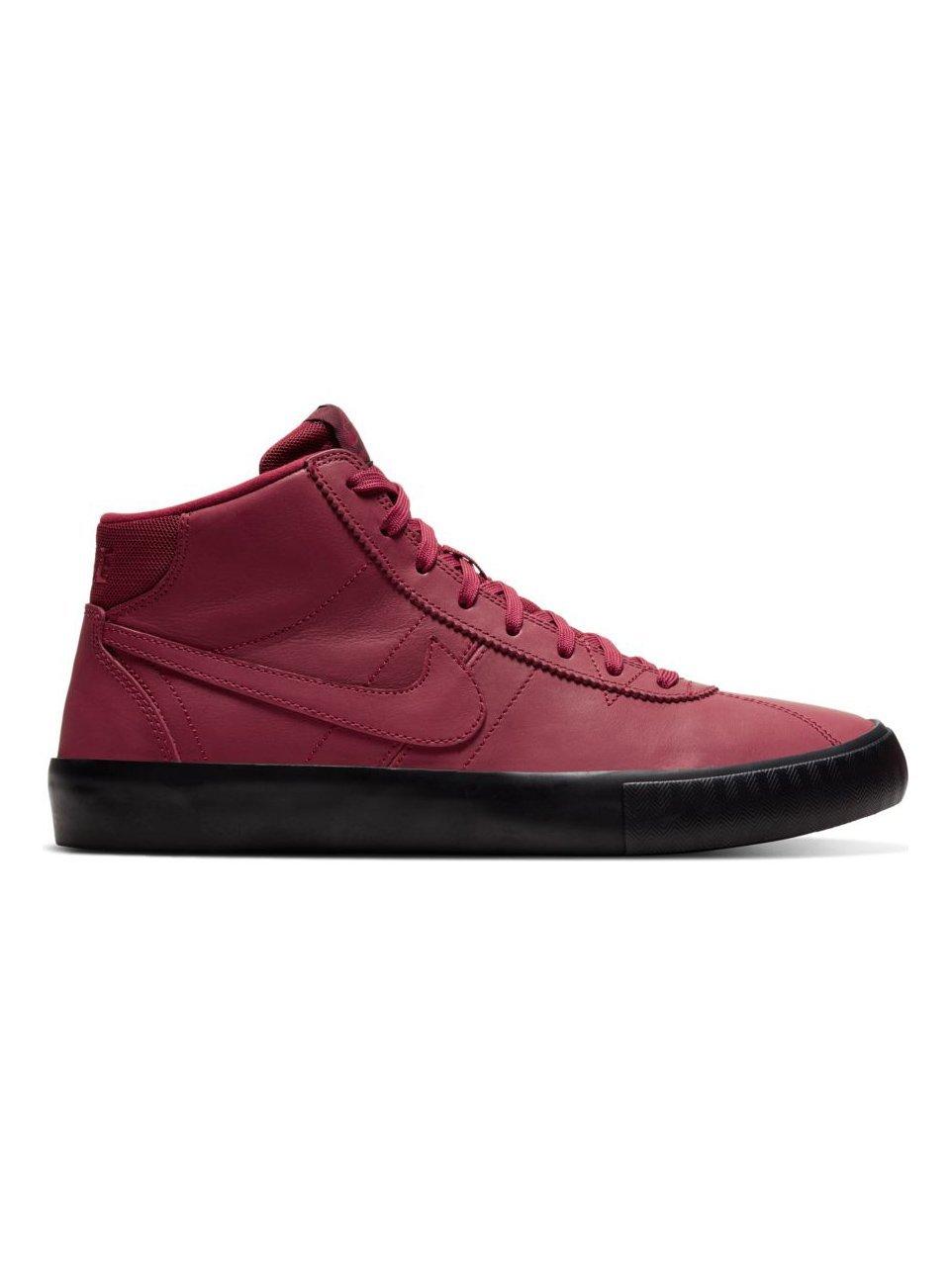 Nike SB Bruin HI ISO Team Red/Night Maroon