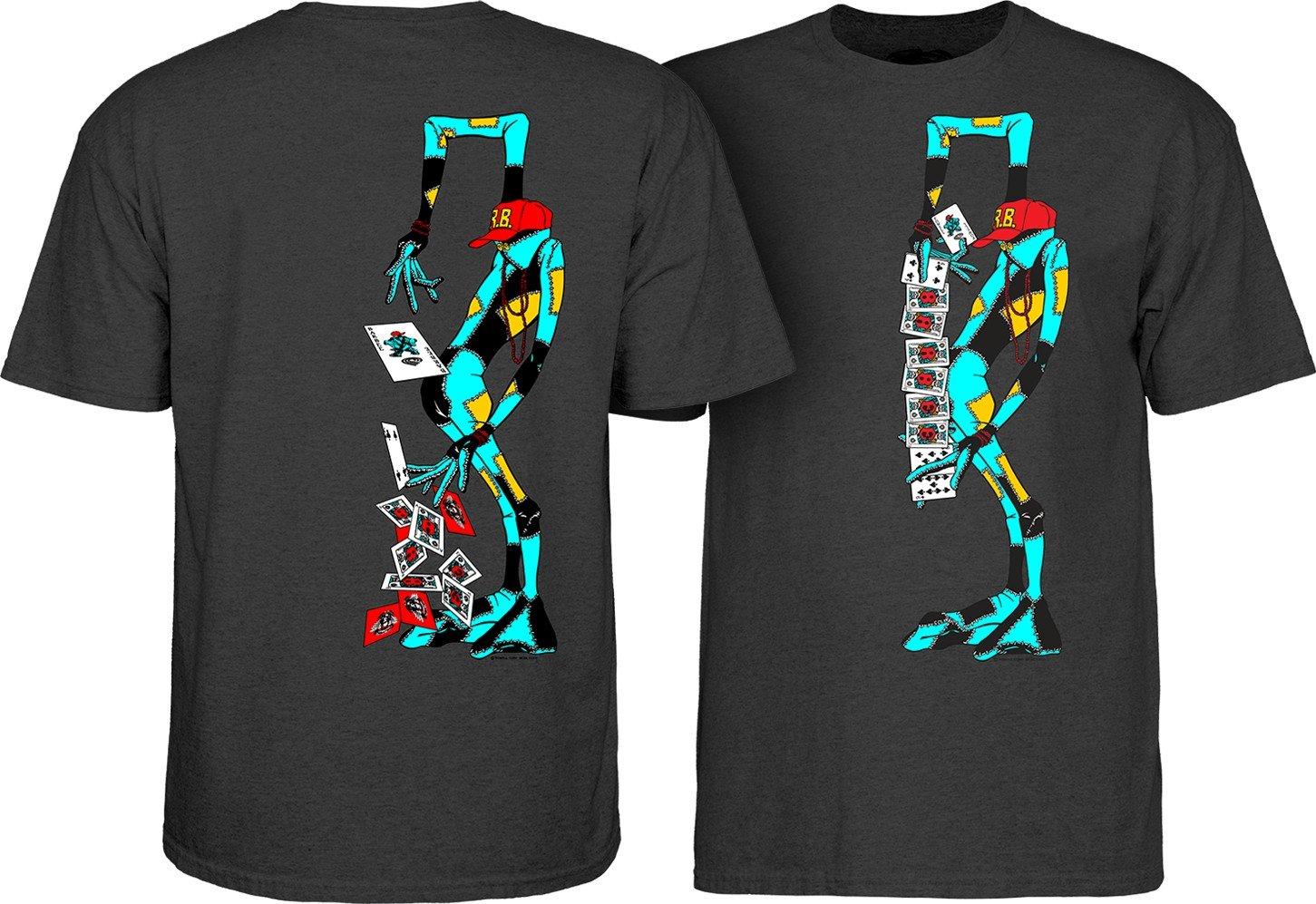 Powell Peralta Ray Barbee Ragdoll T-shirt Charcoal
