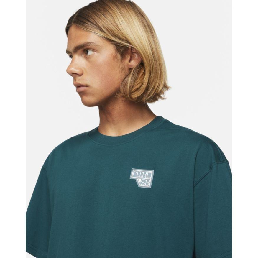 Nike SB Daan 2.0 S/S T-Shirt - Midnight Turquoise