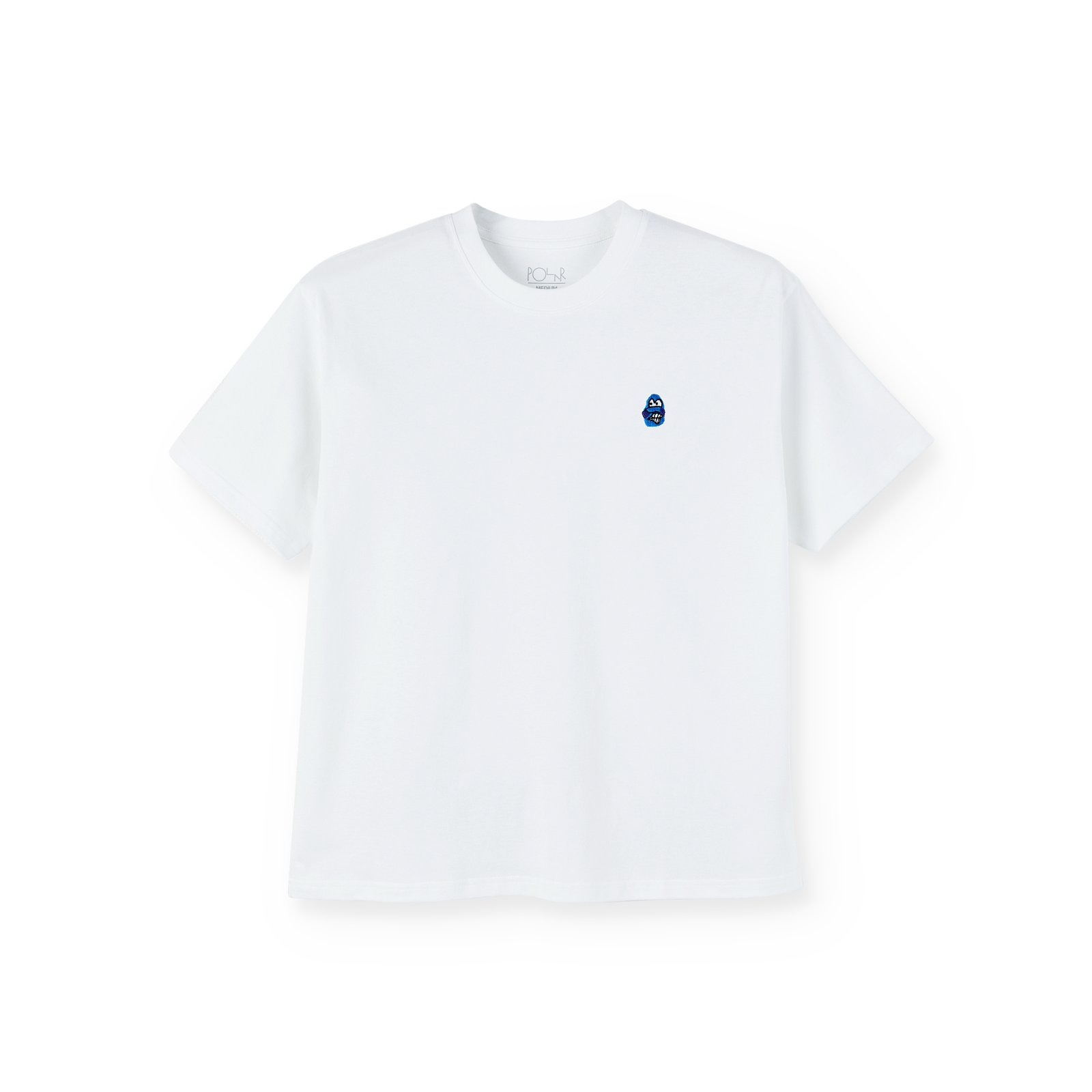 Polar Skate Co Dane Face Shirt white