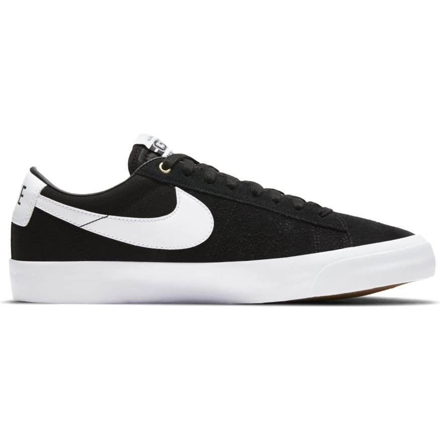 Nike SB Blazer Low Pro GT BLACK/WHITE-BLACK-GUM LIGHT BROWN