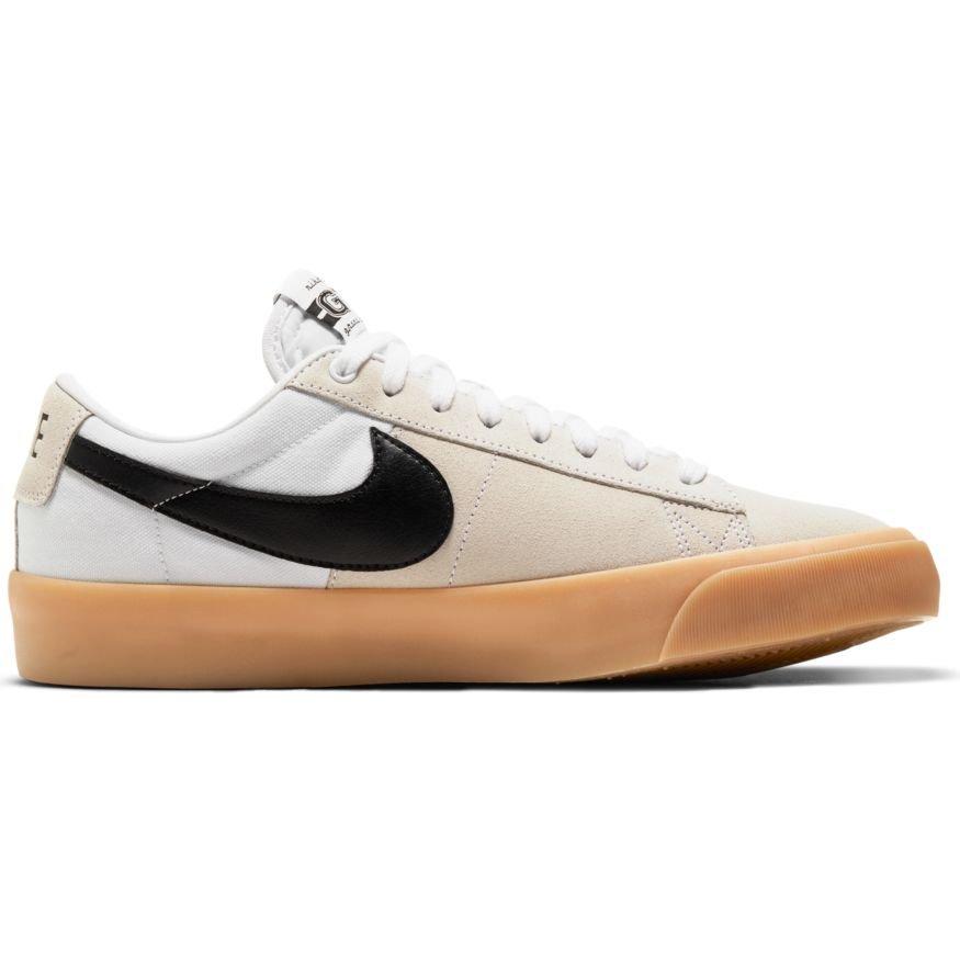 Nike SB Blazer Low pro GT  White/Black-White-White