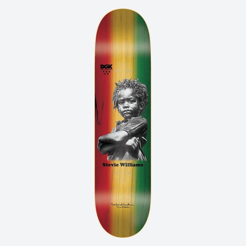 DGK x Heartman Williams 7.8 x 31.5