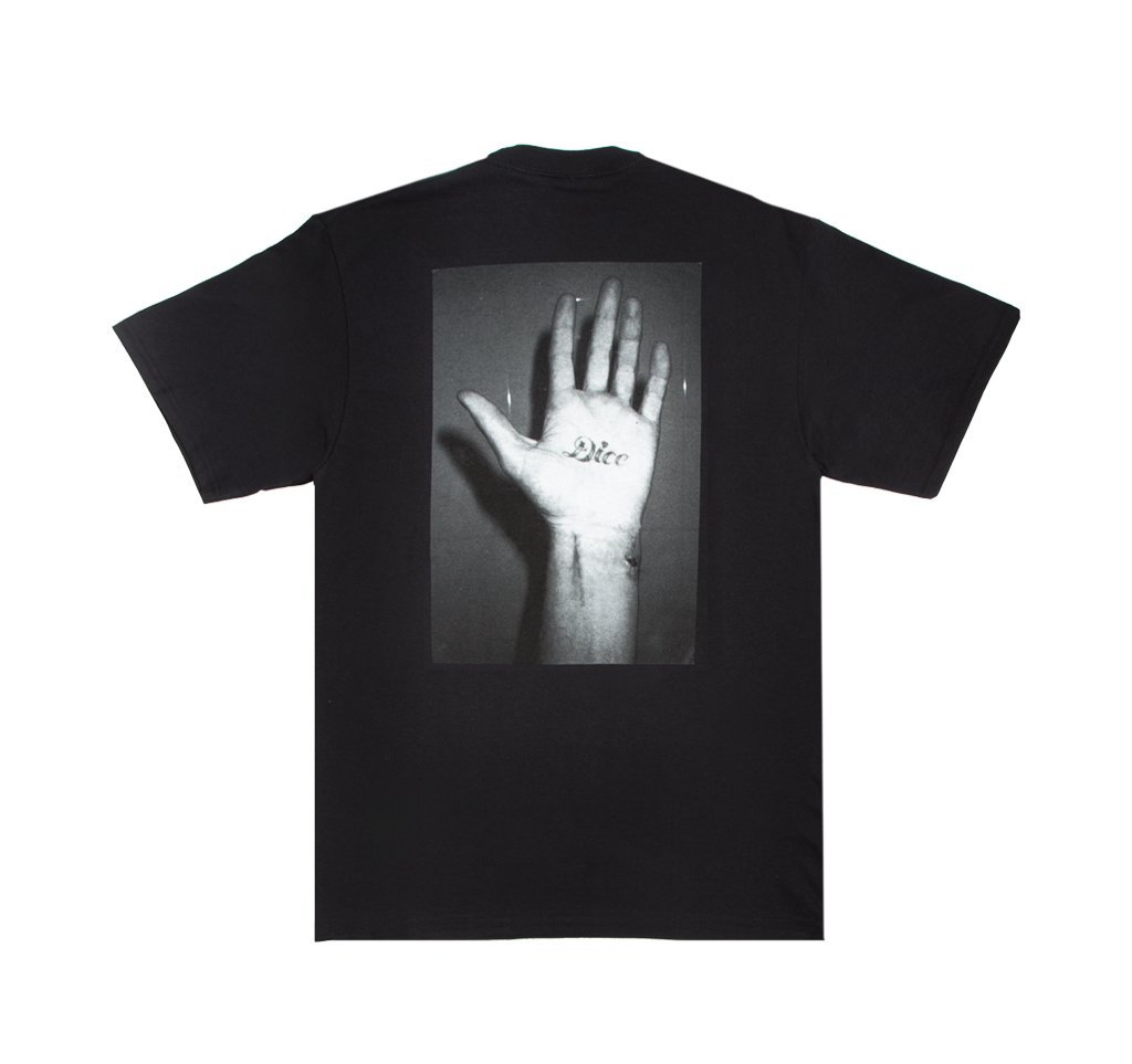 Fucking Awesome Dice Hand s/s t Black