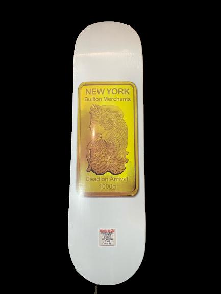 D.O.A. Gold Bar 8.375 x 32