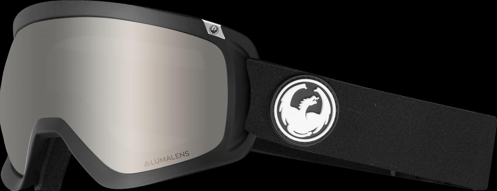 Dragon D3 Goggles Black Silver Ion 2019