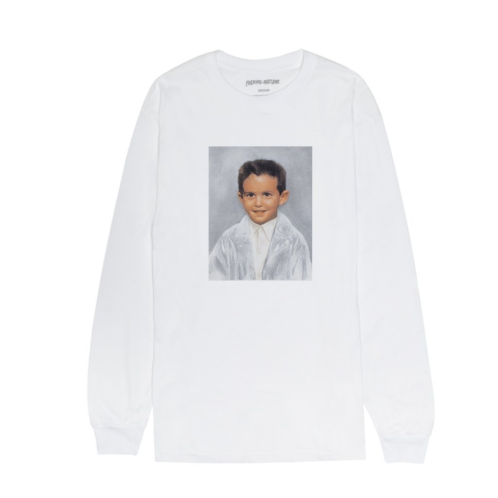 Fucking Awesome Dylan l/s t white