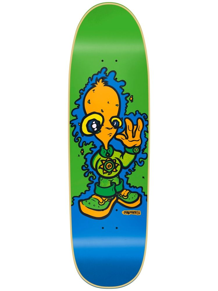 New Deal John Montessi Alien Green 8.875 x 32