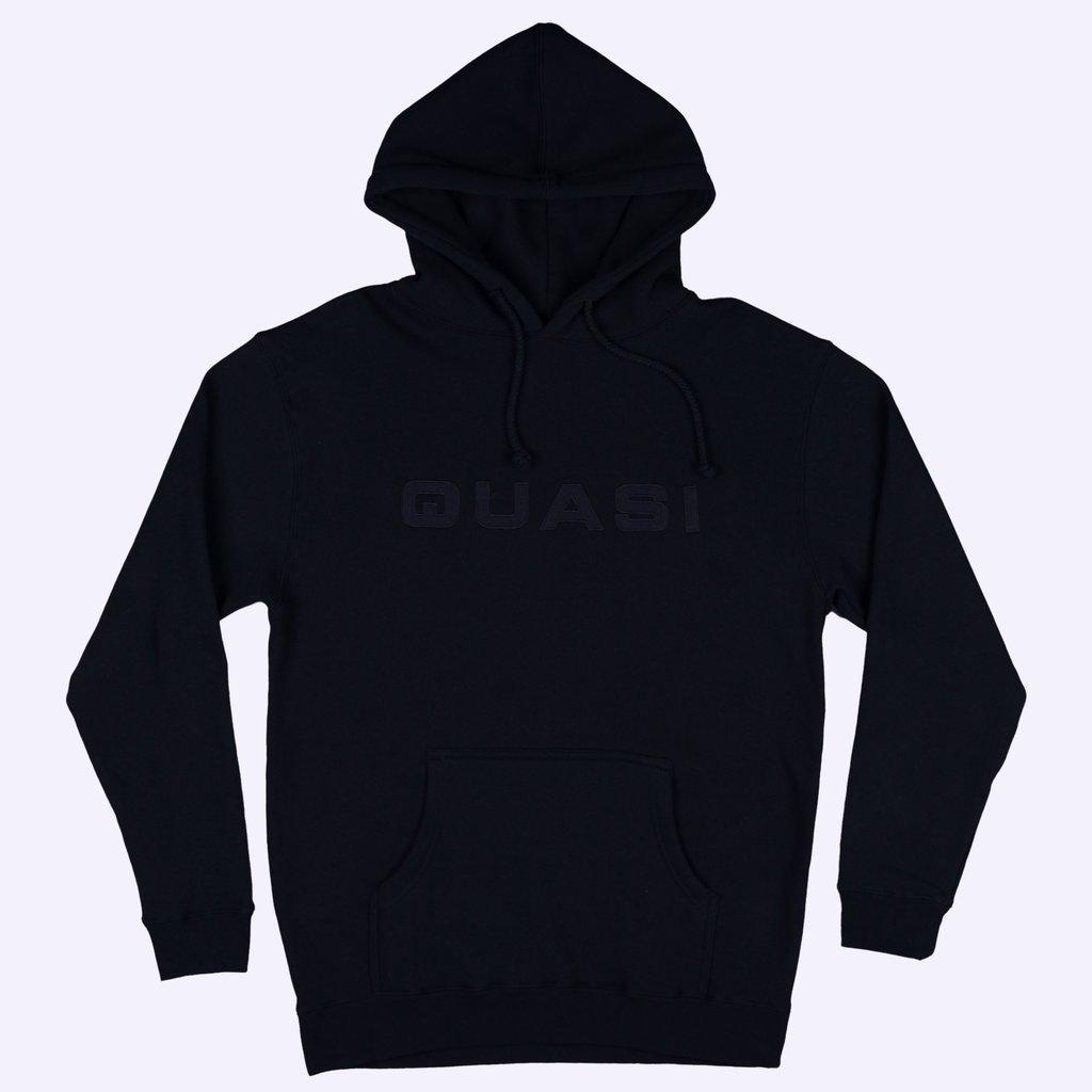 Quasi Euro Hooded Sweatshirt Black