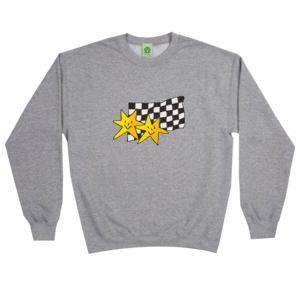 Frog Premium Stars Crewneck Athletic Grey