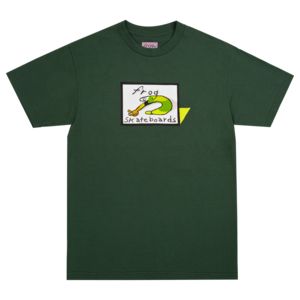 Frog Classic Logo s/s t shirt FOREST GREEN