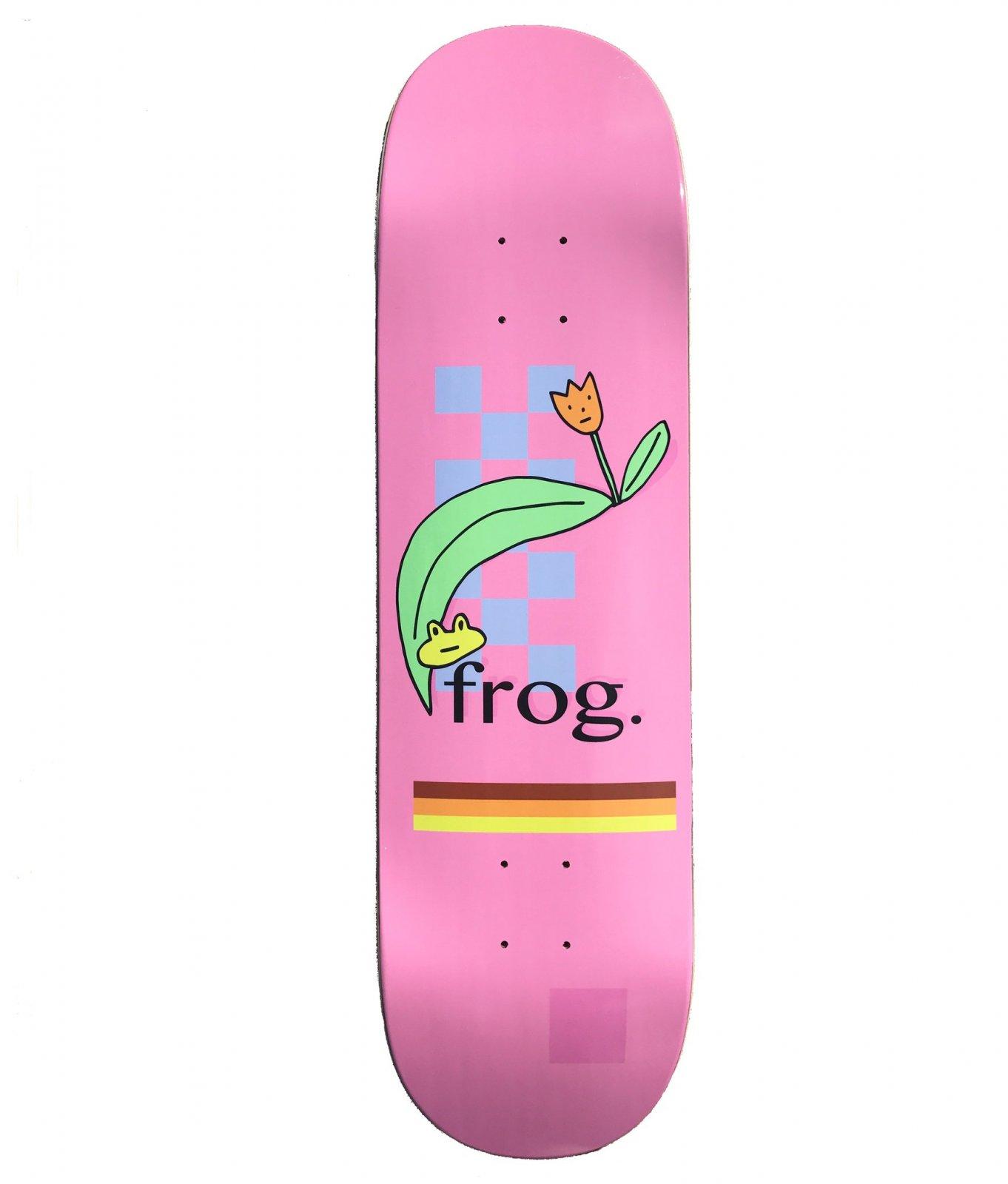 Frog Skateboards Flower 8.5 x 32.4