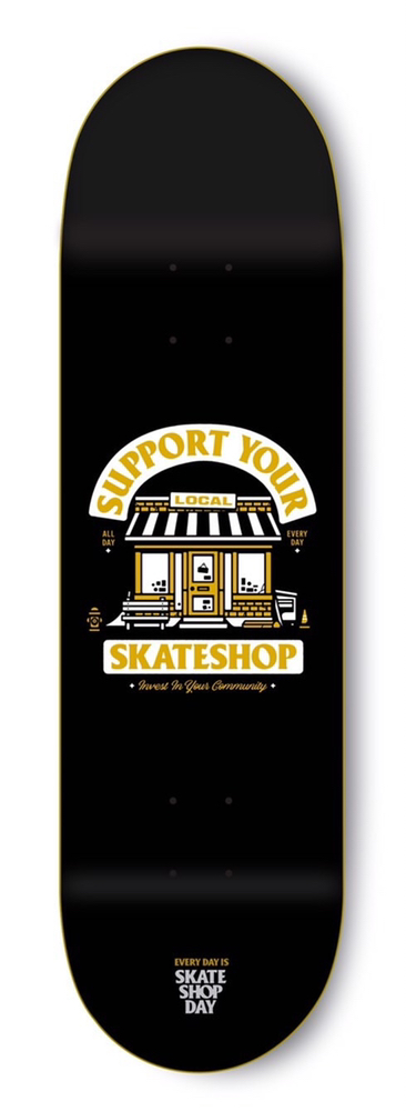 35th Support Your Local Skateshop deck