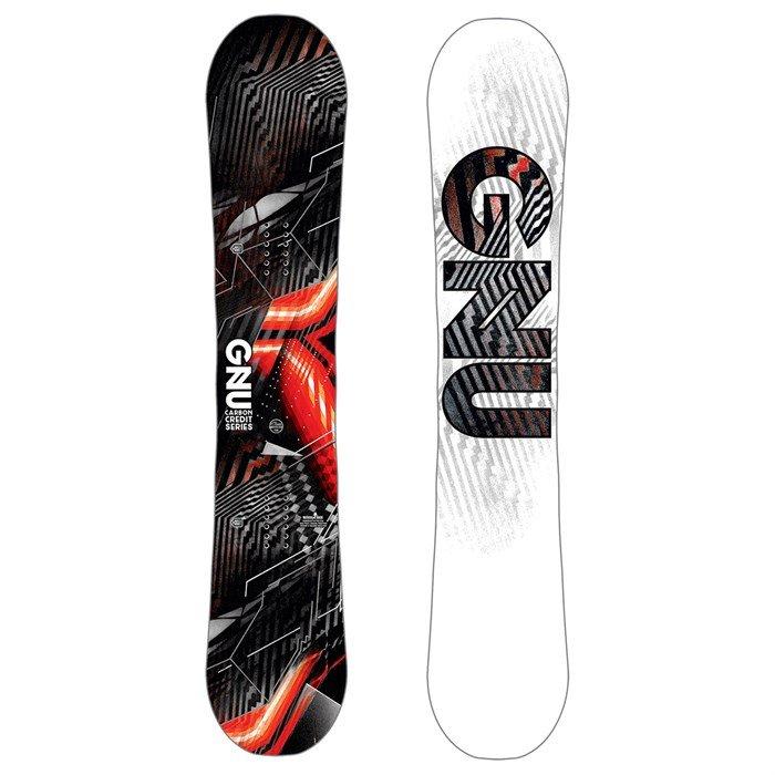 Gnu Asym Carbon Credit B-Grade Snowboard 2019