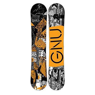 Gnu Carbon Credit Series Snowboard Orange 2017