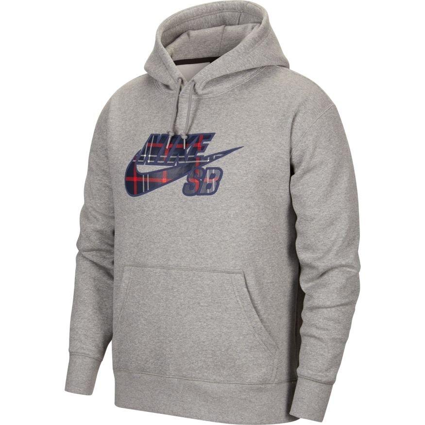 Nike SB HBR Hoodie Athletic Grey