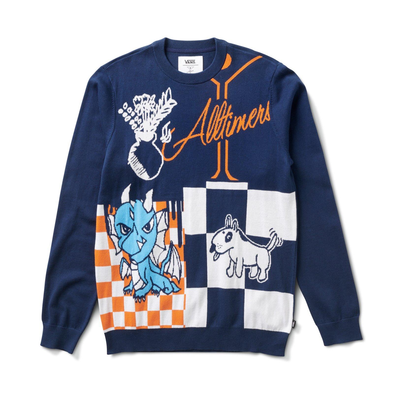 Vans X Alltimers Sweater dress blues