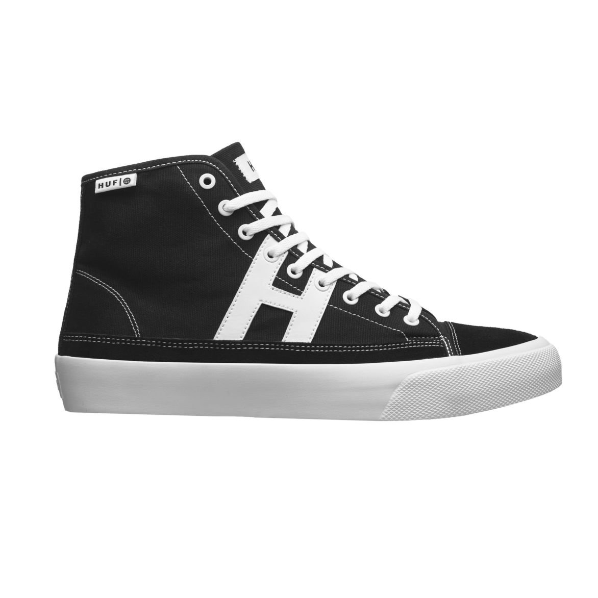 Huf Hupper 2 Hi Black White