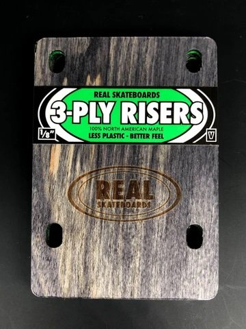 Real 3 Ply riser pads wooden Fits Venture set of 2