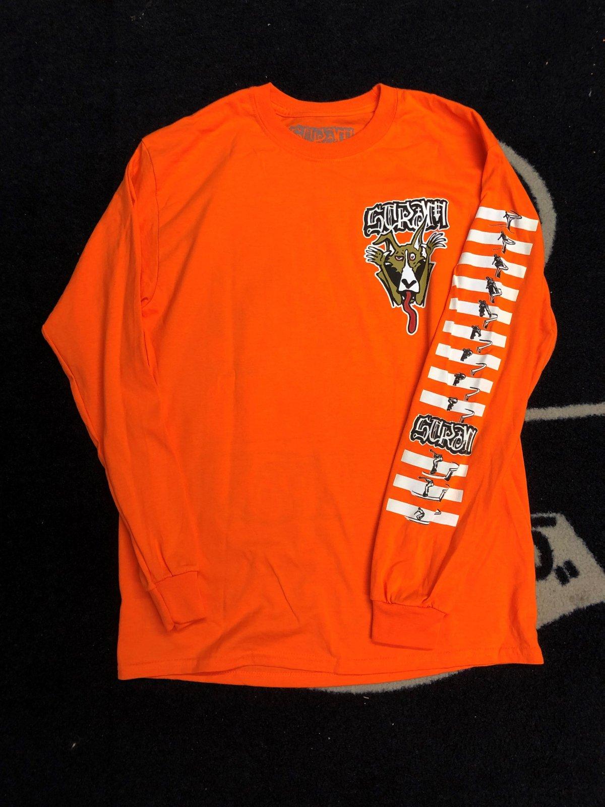 Scram Keenan l/s shirt orange