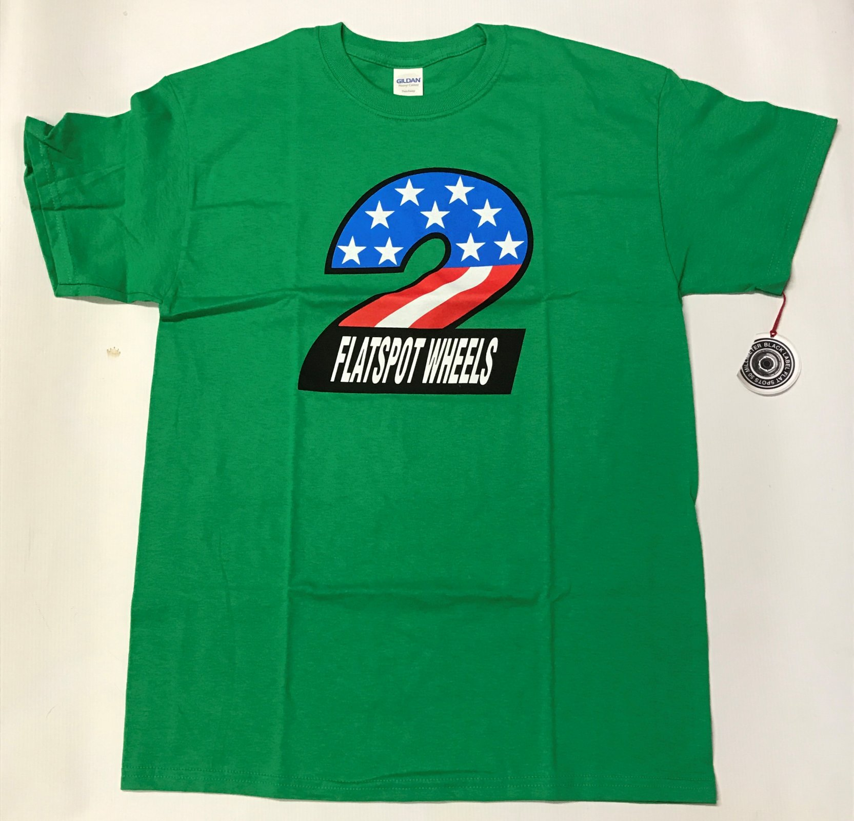 Dear, skating Flatspot s/s t shirt green