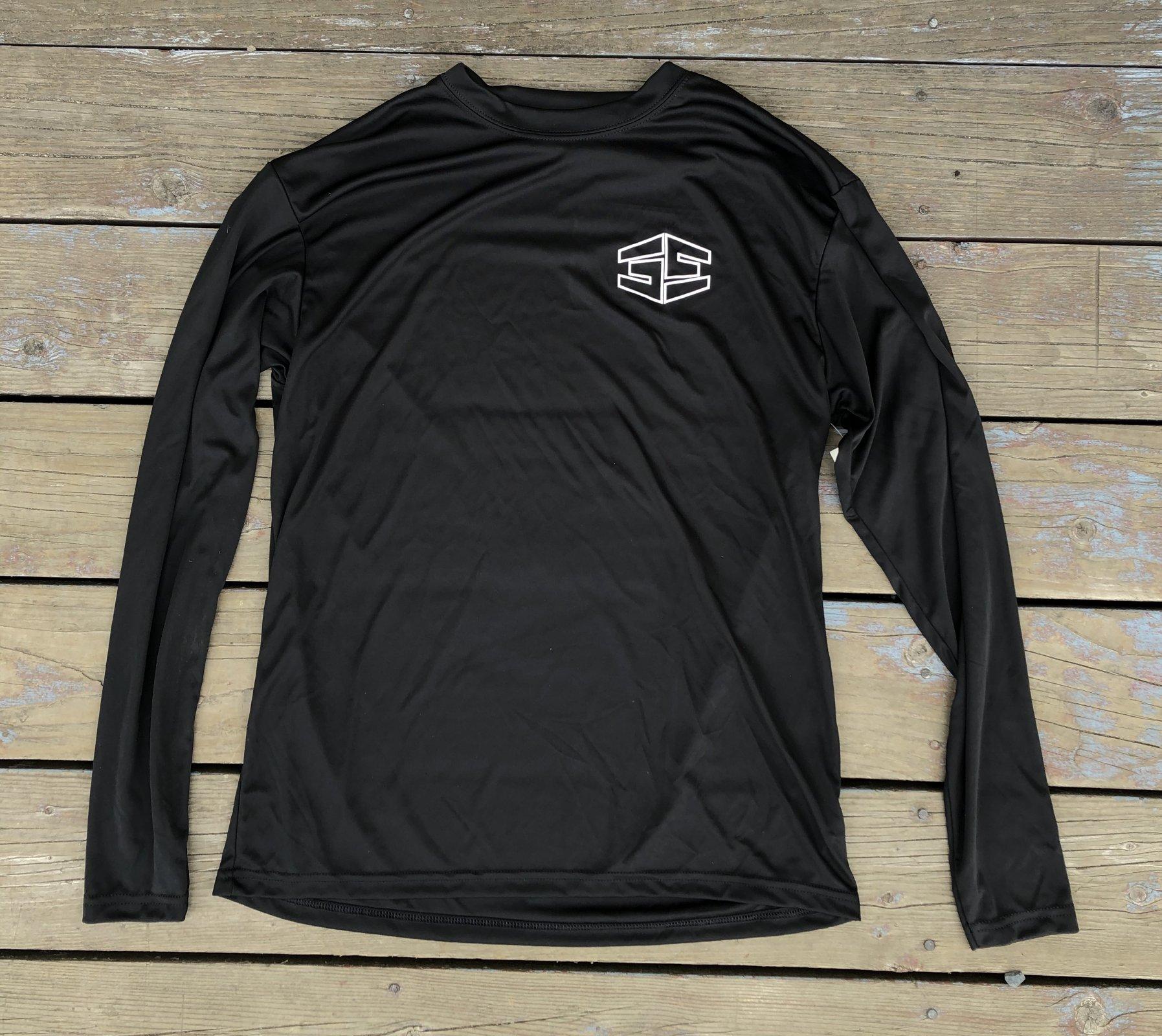 35th Tron First Layer Long Sleeve Shirt Black