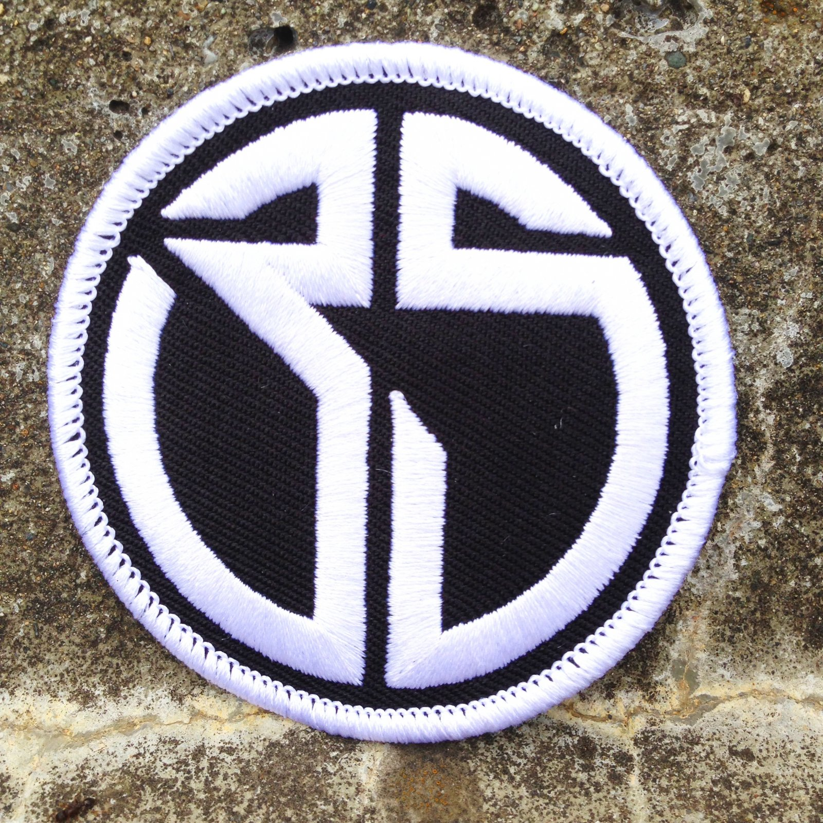 35th Circle Logo patch