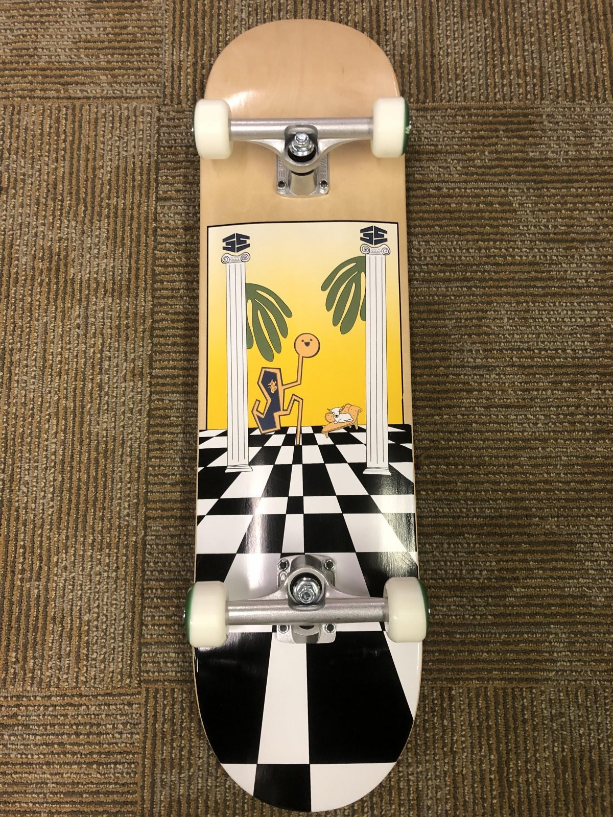 35th Complete skateboard 8.1 x 32