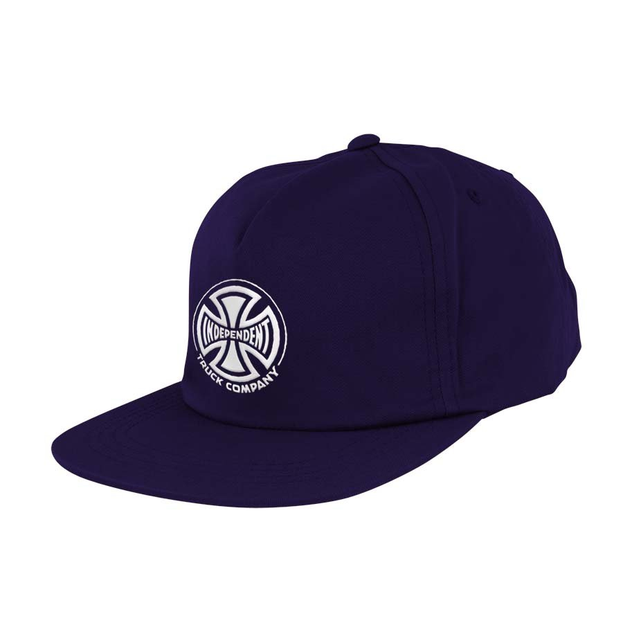 Independent Truck Co. Embroidery Strapback Unstructured Low navy