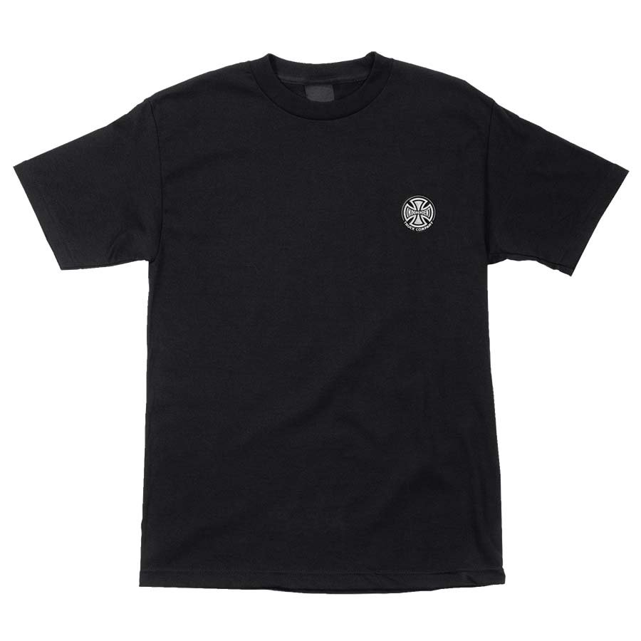 Independent Embroidery Truck Co. s/s t shirt black