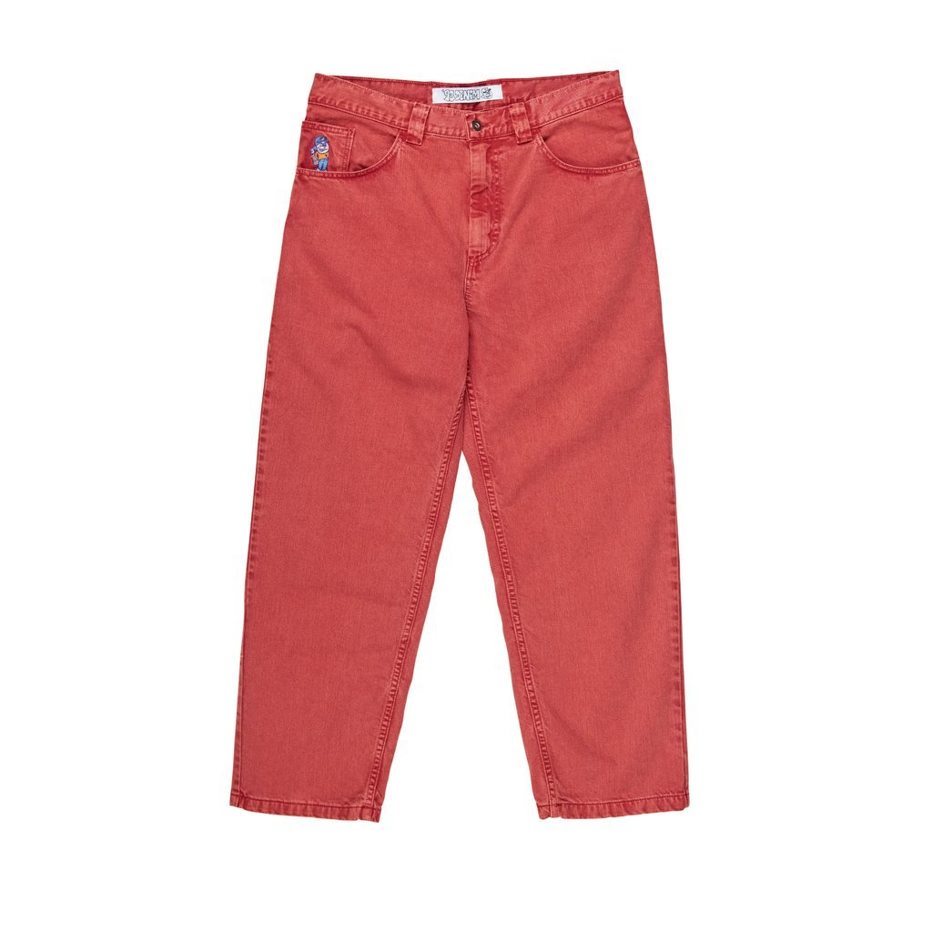 Polar Skate Co 93 Jeans Washed Red