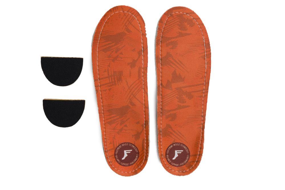 Footprint King Foam Orthotic Orange Camo