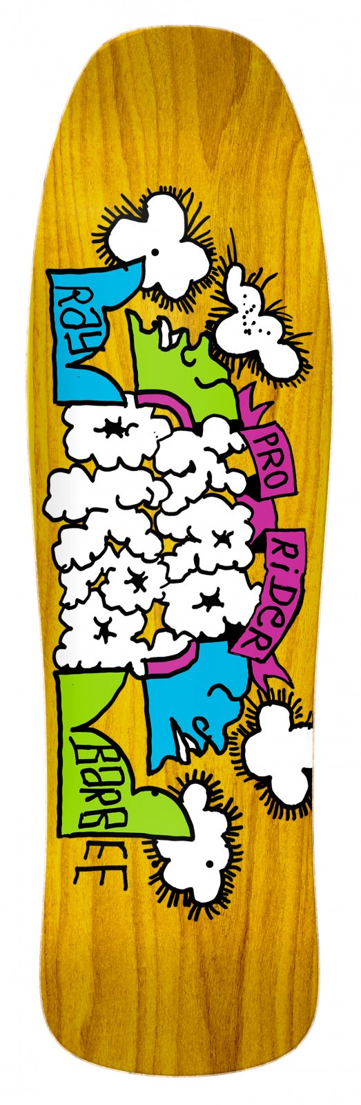 Krooked Barbee Clouds 9.5 x 31.75