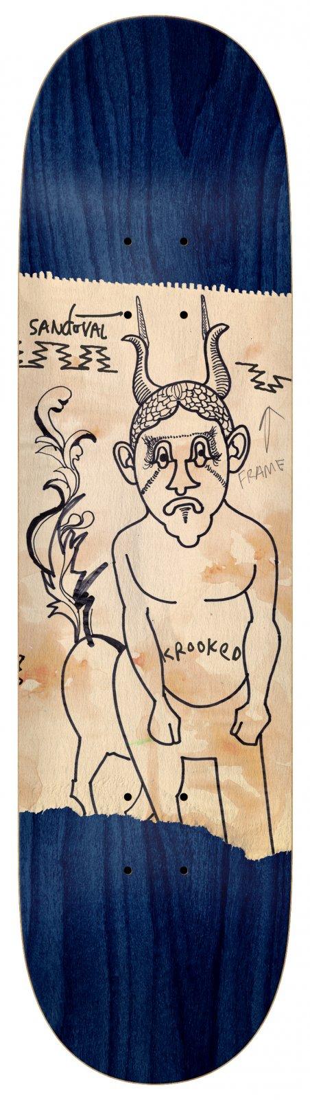 Krooked SANDOVAL GOAT DUDE 8.25 x 32