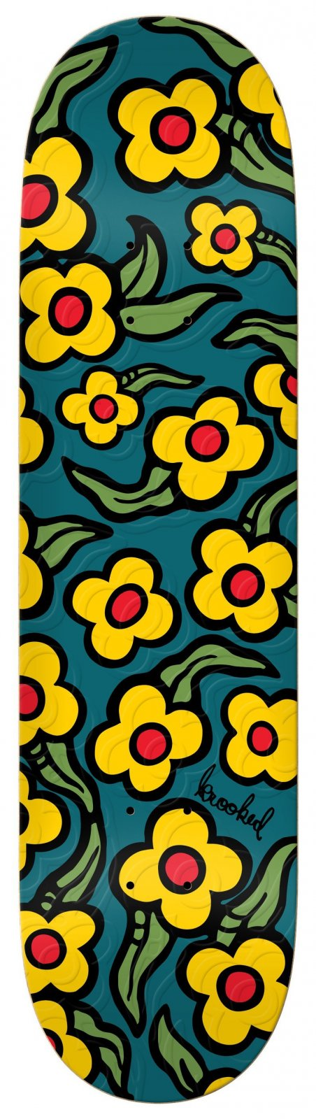 Krooked Wild Style Flowers 8.5 x 31.8