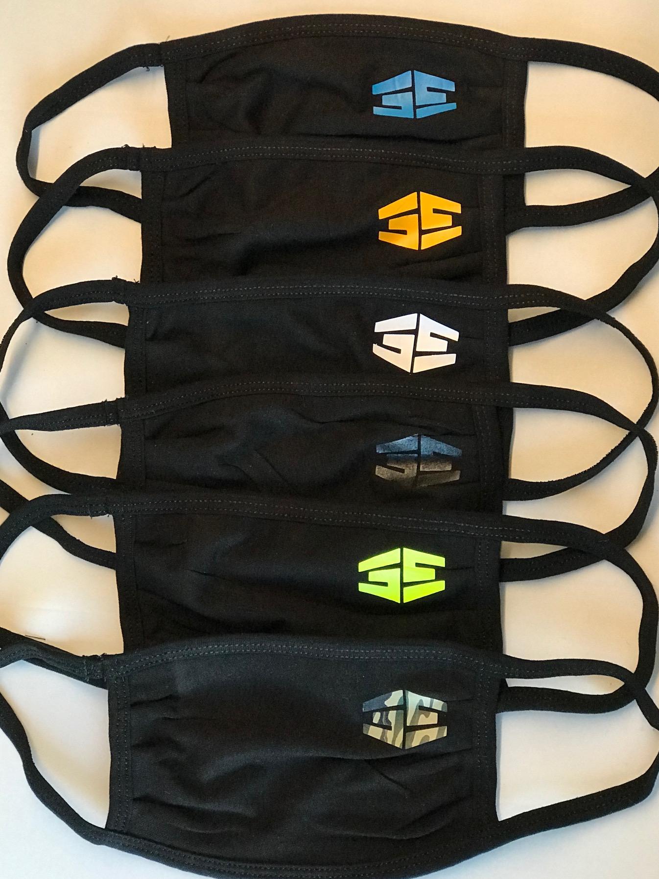 35th Ave Tron Logo Masks